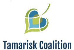 Logo for the Tamarisk Coalition