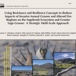 Using resistance and resilience field guide cover