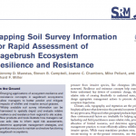 Tapping soil survey - Page 1