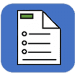 Factsheet/brief icon