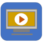 Webinar, video, audio icon