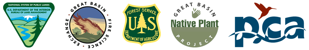 Collage of logos featuring: BLM, GBFSE, USFS, GBNPP, PCA
